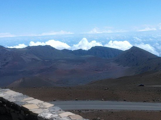 Haleakala National Park: Awesome view of the crater
