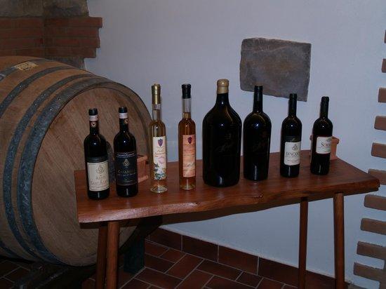 Castello Sonnino : Balsamic vinegar, honey, and Olive oils as well as wine.
