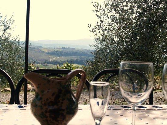 Castello Sonnino : Perfect lunch venue.