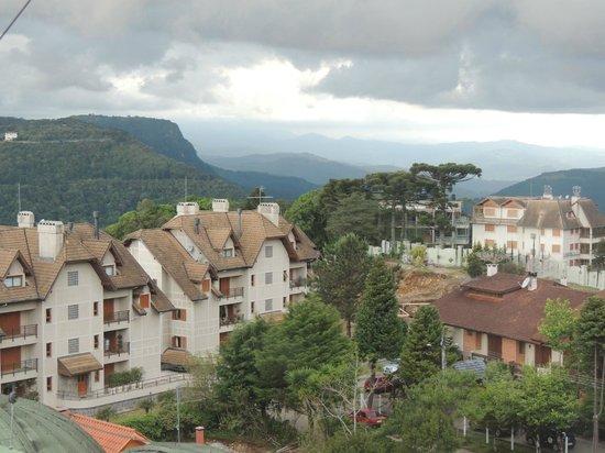 Hotel Laghetto Siena: Vista do mirante do hotel