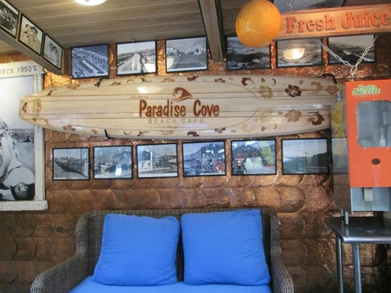 Paradise Cove Beach Cafe: restaurant part 4