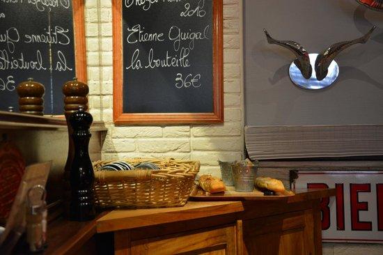 La Table du Boucher : Vue intérieure