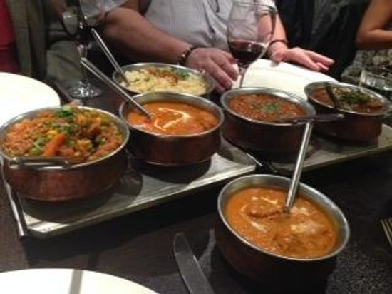 Shimla Pinks: Main course for 4 People