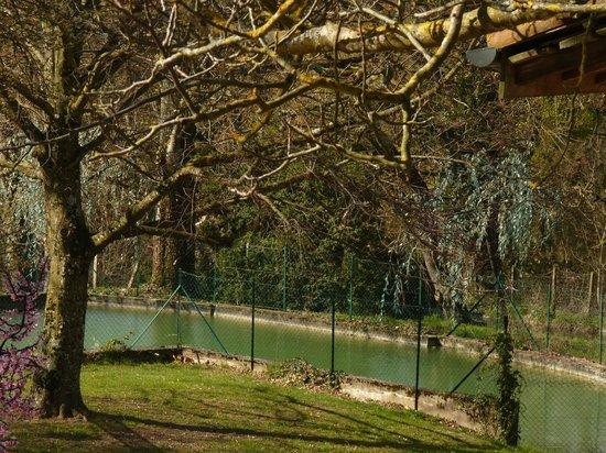 Domaine de la Colombière : le parc en mars 2014