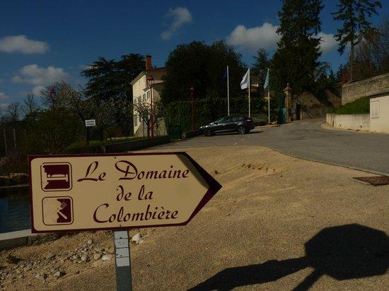 Domaine de la Colombière : l'Arrivée du Domaine