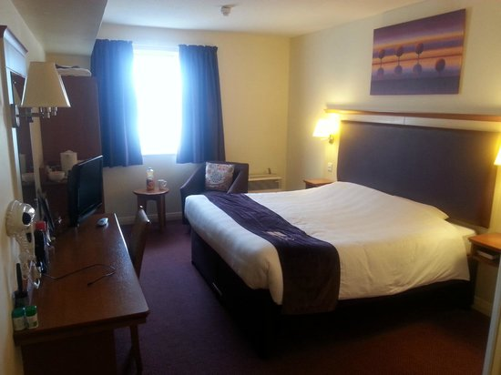 Premier Inn Norwich City Centre (Duke Street) Hotel: Room 419