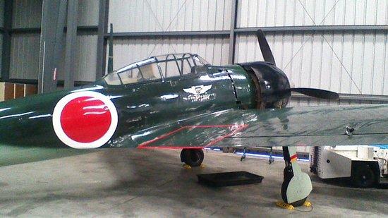 WWII Aviation Museum : Japanese Zero