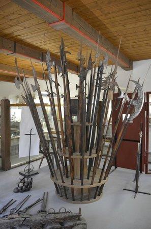 Mittelalterliches Kriminalmuseum: Halberds