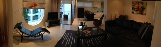 BYD Lofts Boutique Hotel & Serviced Apartments: Living area