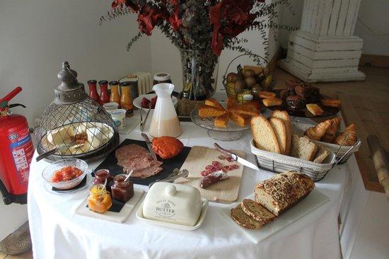 Le Château Brangoly: Un desayuno increíble (¡todo casero!)