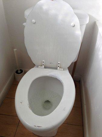 Sun Deck Inn & Suites: Toilet