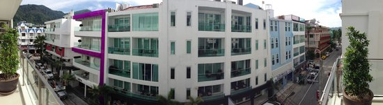 BYD Lofts Boutique Hotel & Serviced Apartments: View from the balcony