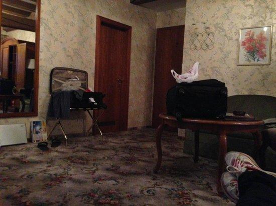 Hotel Eisenhut: Quarto predio da frente. Frontal ultimo andar.