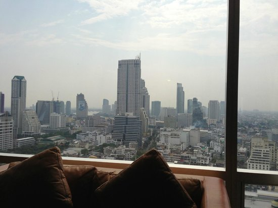 Pullman Bangkok Hotel G: view from executive lounge