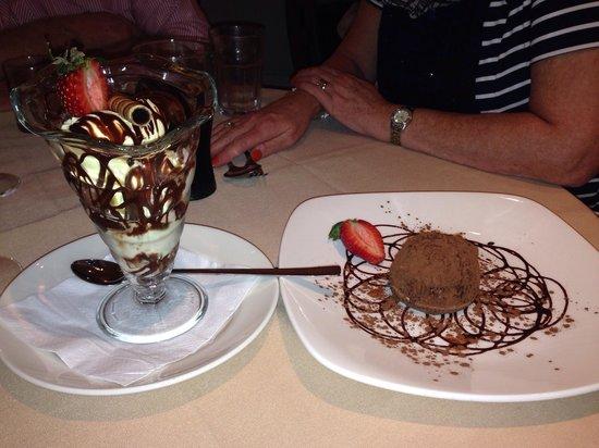 Puccini Ashton: Yummy Desserts at Puccini :-)