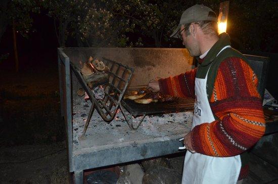 Posada Cavieres Wine Farm : Hans Argentine barbecue - a must!