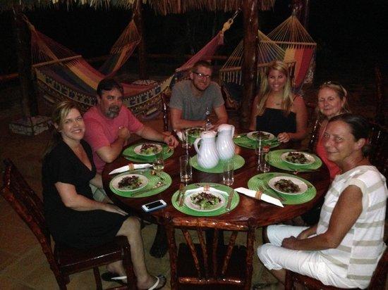 Hacienda Puerta Del Cielo Eco Spa: Dinner