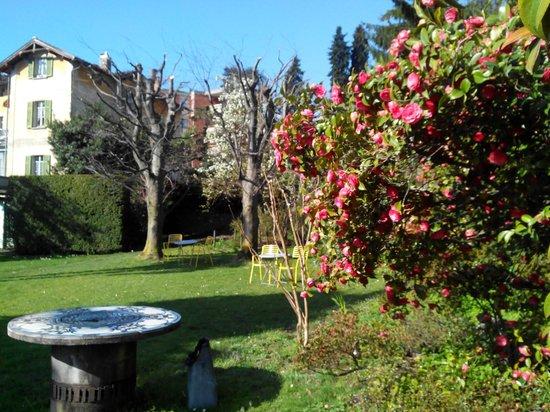 Hotel Villa Selva: Sprinf Garden in villa Selva
