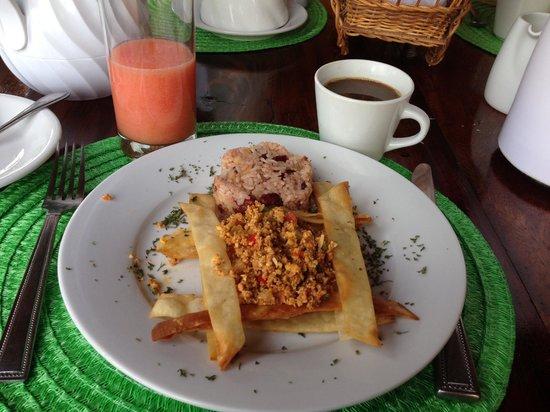 Hacienda Puerta Del Cielo Eco Spa: Eggs de JC