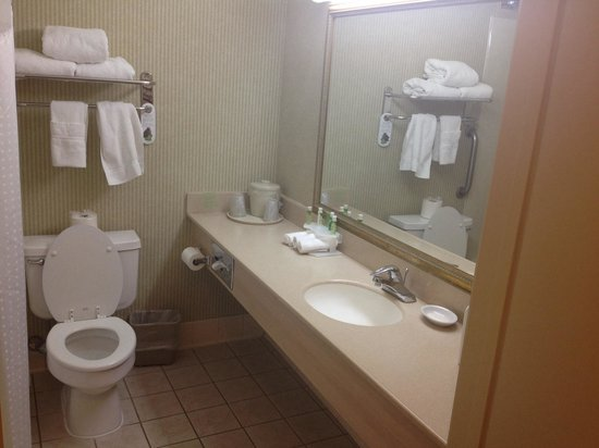 Holiday Inn Express Hotel & Suites Pasadena Colorado Blvd. : Bathroom