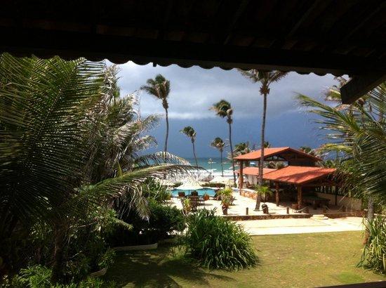 Rede Beach: Peça quarto com vista para o mar no andar superior