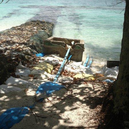 Fihalhohi Island Resort : scarico  all'aperto