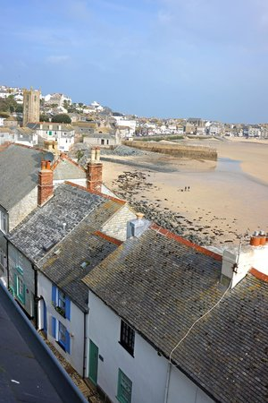 Trevose Harbour House: View from Loft suite