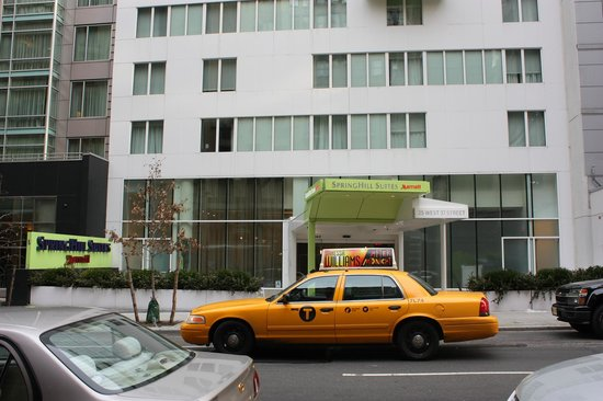 SpringHill Suites New York Midtown Manhattan/Fifth Avenue : ingresso