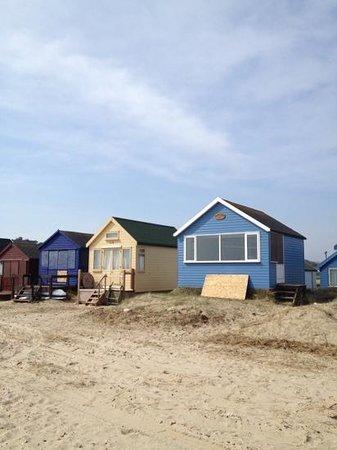 Hengistbury Head: Hengistbury Beach Huts