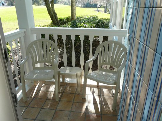 Disney's Old Key West Resort : Our patio