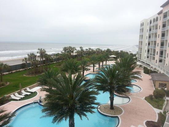 Diamond Beach : view from condo 406