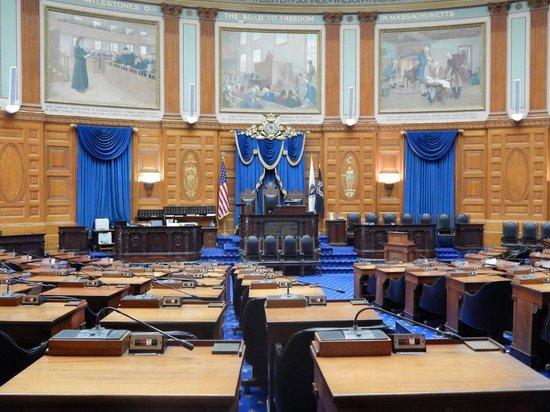 Massachusetts State House : inside look 3