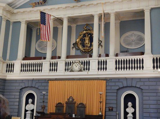 Massachusetts State House : inside look 1