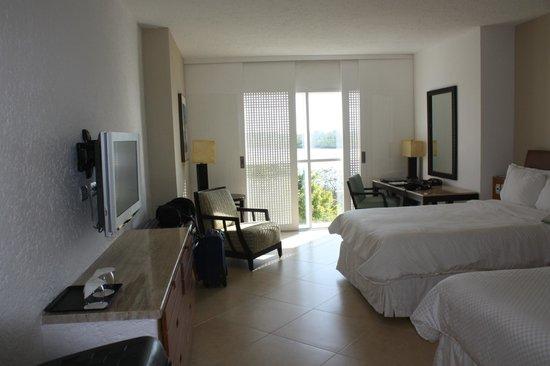 The Westin Resort & Spa Cancun: Habitacion doble con vista a la laguna