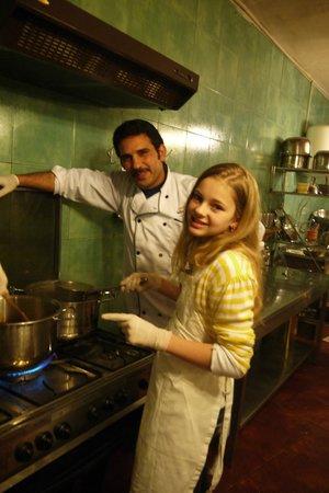 Petra Kitchen: The kids really got involved