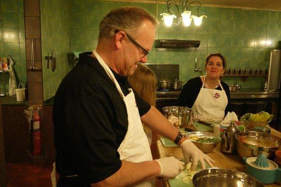Petra Kitchen: My husband enjoyed the evening dispite himself!