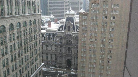 Philadelphia Marriott Downtown: Vista de nuestro cuarto