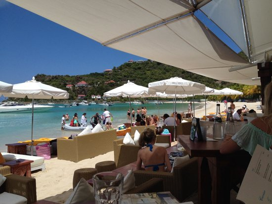 Le Guanahani: Lunch on the beach at Guanahani!