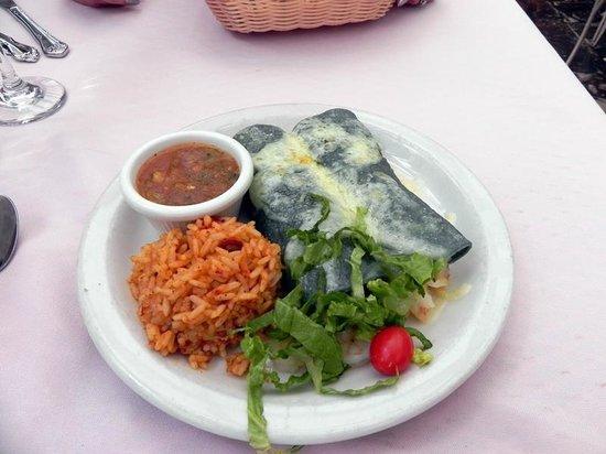 Rancho de Chimayo Restaurante : Shrimp Enchiladas