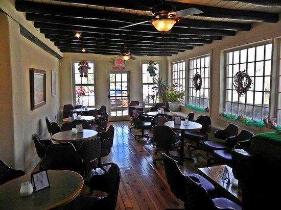 Rancho de Chimayo Restaurante: Bar Seating