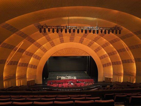 Radio City Music Hall : El escenario, hermoso!
