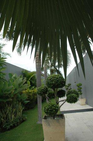 The Seminyak Suite Private Villa: courtyard