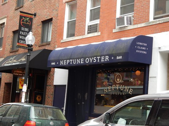 Neptune Oyster: outside look