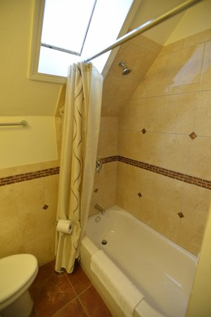 Friendship Suites: alternate bathroom view w/skylight