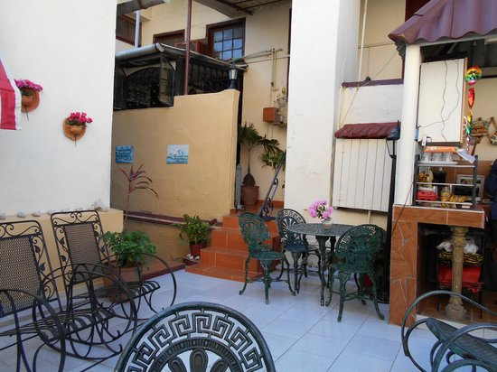Casa Colonial La Terraza: Partial View of La Terraza