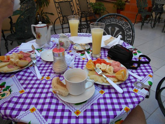 Casa Colonial La Terraza: Succulent and flavor breakfast