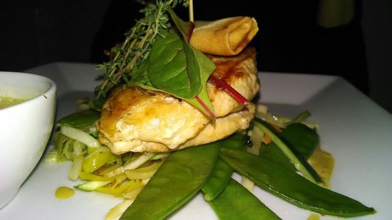 Restaurant Entler: Chicken dish