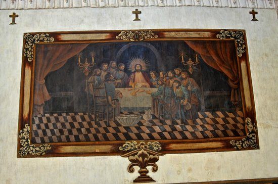 Mission San Xavier del Bac : Painting