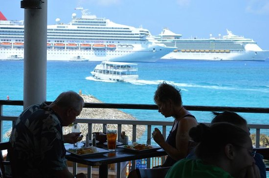 Guy Harvey's Island Grill : View from the top!