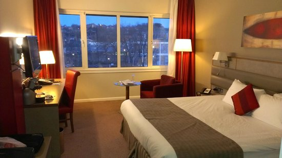 Radisson Blu Hotel, Durham: business room